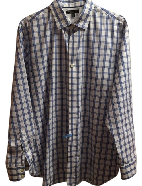 Preload https://item3.tradesy.com/images/banana-republic-white-non-iron-slim-fit-button-down-top-size-14-l-6177442-0-0.jpg?width=400&height=650