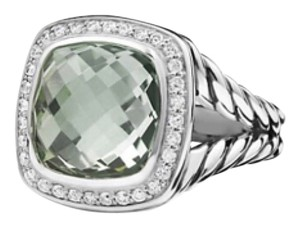 David Yurman Albion Ring Prasiolite With Diamonds. R12308dssapld17