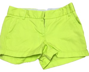 J.Crew Mini/Short Shorts Neon yellow