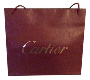 Cartier Cartier Red Paper Shopping Bag