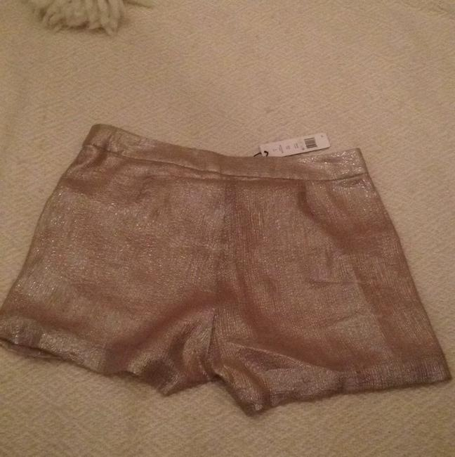 W118 by Walter Baker Dress Shorts Nude/champagne/gold metalic