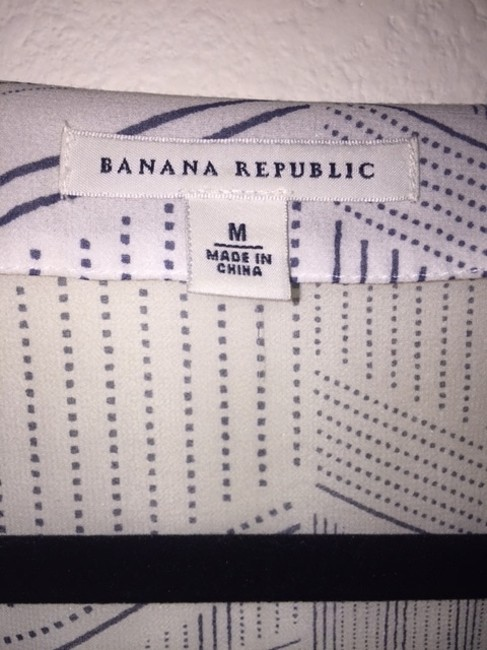 Banana Republic Top White, Black
