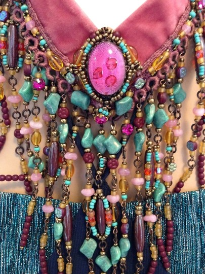 Preload https://item4.tradesy.com/images/multicolor-hot-pink-and-turquoise-statement-necklace-6179053-0-2.jpg?width=440&height=440