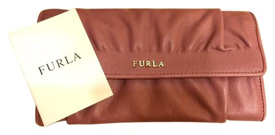 Furla Furla Ruched Leather 'Pack XL' Flap Continental wallet