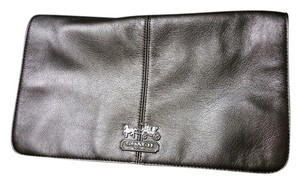 Coach Pewter Gray Clutch