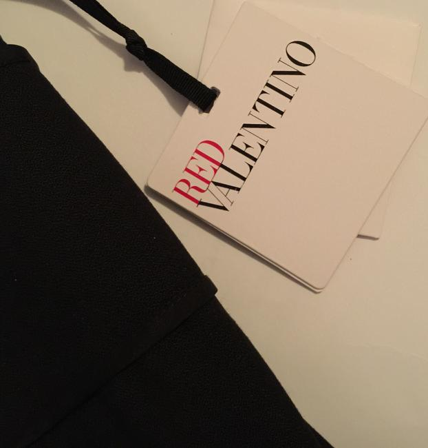 RED Valentino Sz It 46 Split Collar Bow Detail Dress
