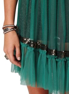 Free People short dress Teal on Tradesy
