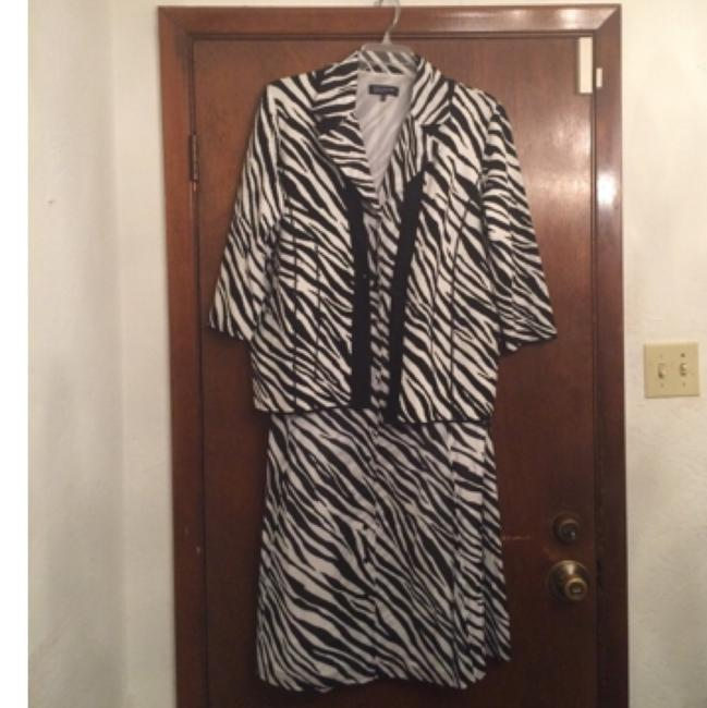 Black and white Maxi Dress by Jones New York