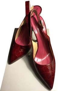 Kate Spade Carney Red Pumps