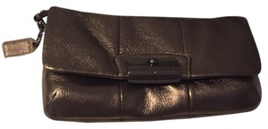 Coach Metallic Bronze Clutch