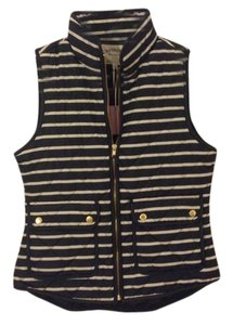 Cambridge Dry Goods Striped Quilted Vest