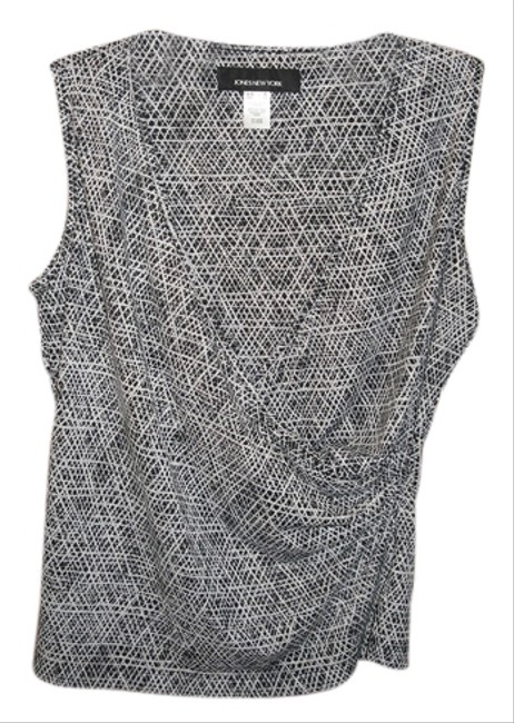 Jones New York Top Black and White