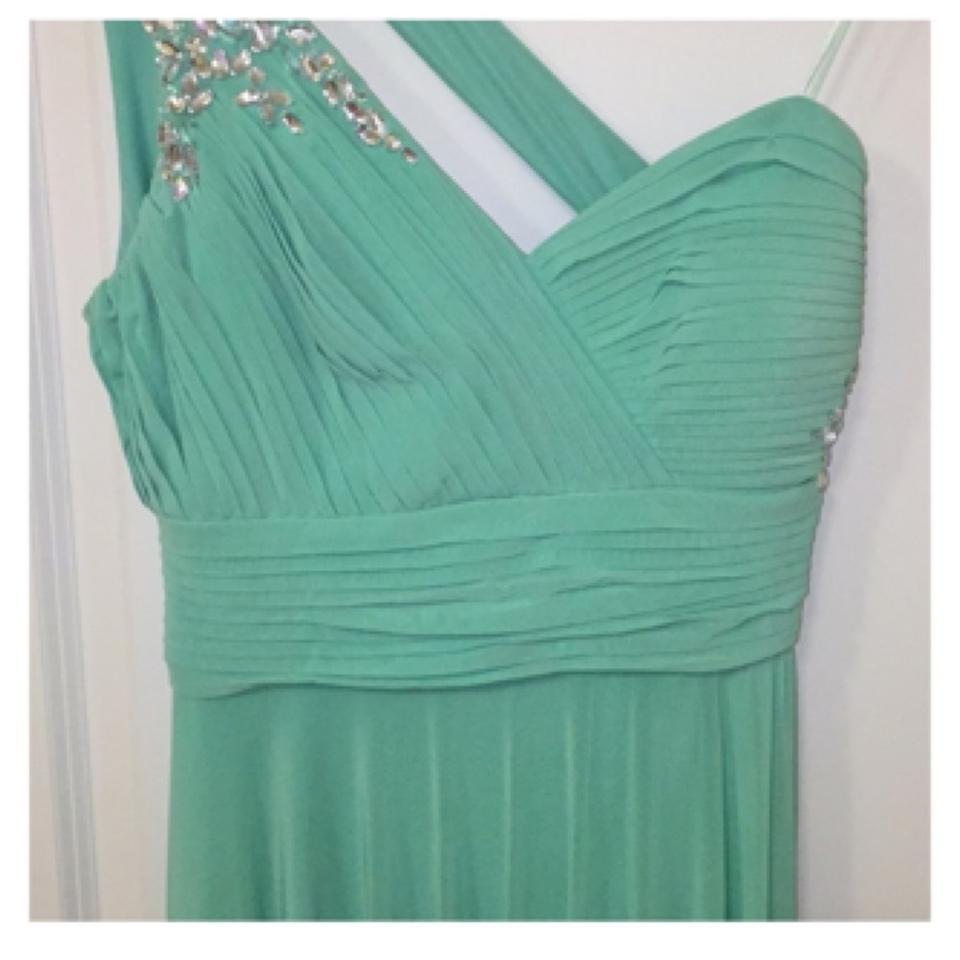 Tiffany Blue Sweet Heart Long Cocktail Dress Size 12 (L) - Tradesy