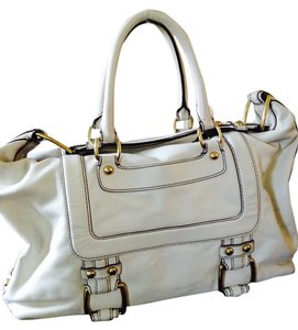 Banana Republic Tote in Winter White