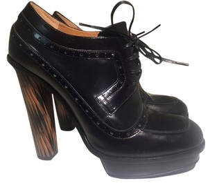 Fendi Leather Bootie Boot Oxford black Boots