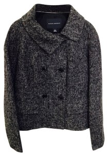 Banana Republic Black and White Tweed Jacket
