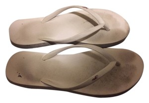 Hollister White Sandals