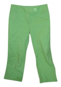 INC International Concepts Capris Avacado Green