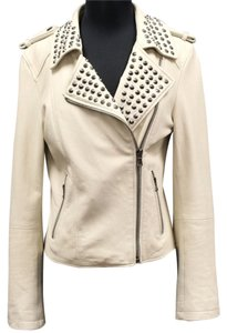 Forever 21 Leather Lambskin Biker Motorcycle Jacket