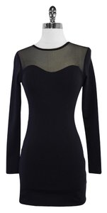 David Lerner Long Sleeve Bodycon Dress