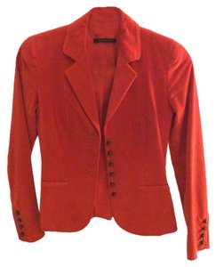 Theory Orange Red Blazer