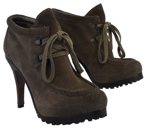 Ash Poppy Taupe Suede Boots