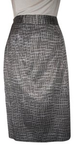 Ann Taylor LOFT Skirt black & grey