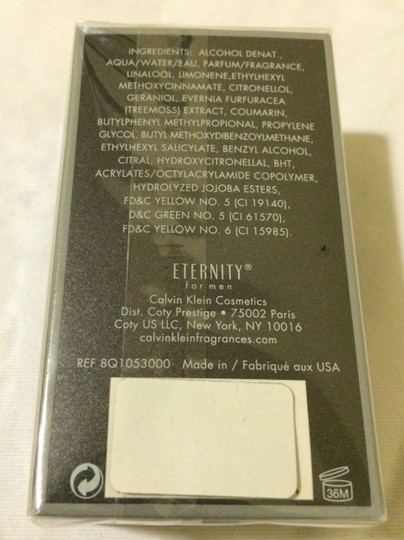 Calvin Klein ETERNITY for men 1.7 Fl. Oz (50ml)