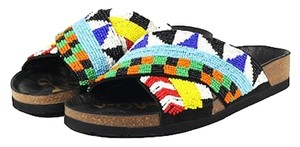 Sam Edelman Flats Boho Beaded Multi Sandals