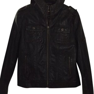 Miss Sixty Brown Leather Jacket