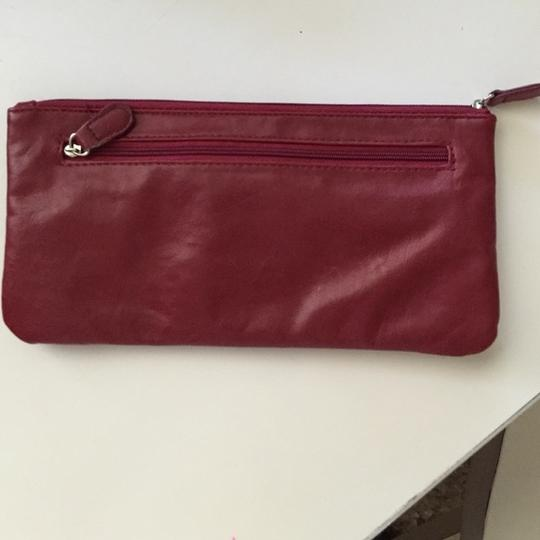Mossimo Supply Co. Mustache Hipster Target Red Clutch