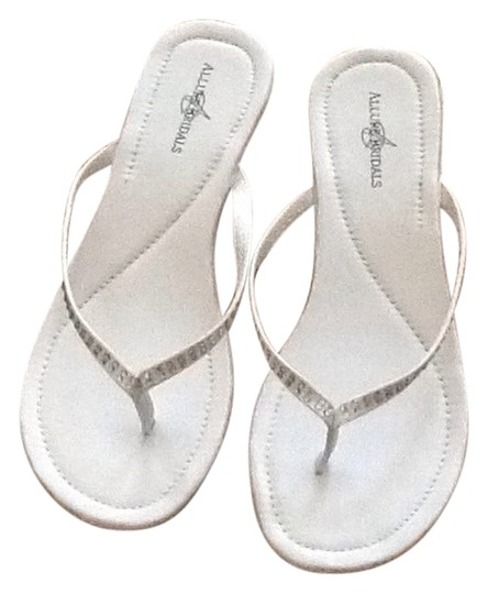 Allure Bridal Shoes Diamond white Sandals