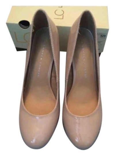 LC Lauren Conrad Nude Pumps