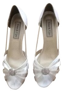 Touch Ups White satin Formal