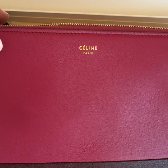 Céline Orchid Purple Clutch