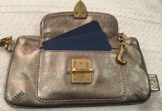 Juicy Couture Evening Wristlet in Gold