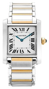 Cartier CARTIER TANK FRANCAISE MIDsize STEEL AND GOLD LADIES WATCH