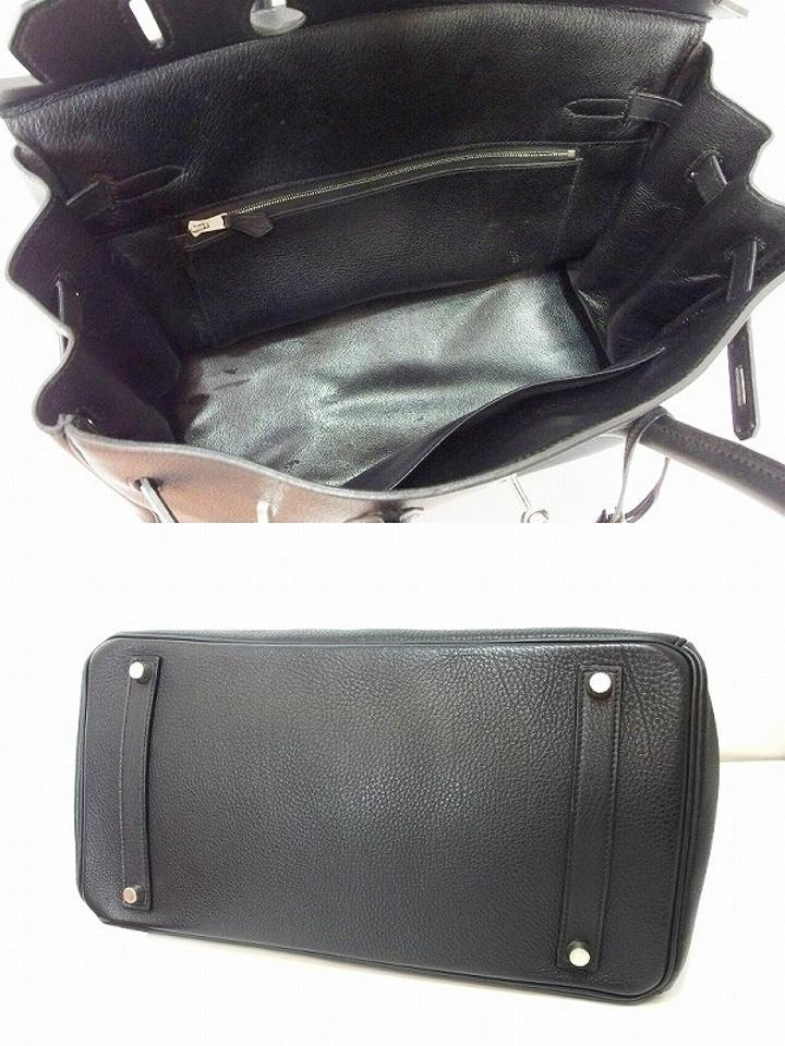 hermes inspired wallet - Herm��s Rare! Birkin 35 Togo With Shooting Star Black Tote Bag on ...