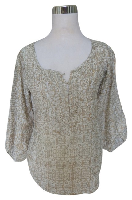Preload https://item2.tradesy.com/images/lucky-brand-gold-by-john-robshaw-blouse-size-2-xs-6190621-0-0.jpg?width=400&height=650