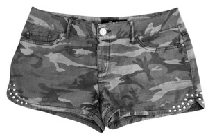 Rewash Mini/Short Shorts Camouflage Green