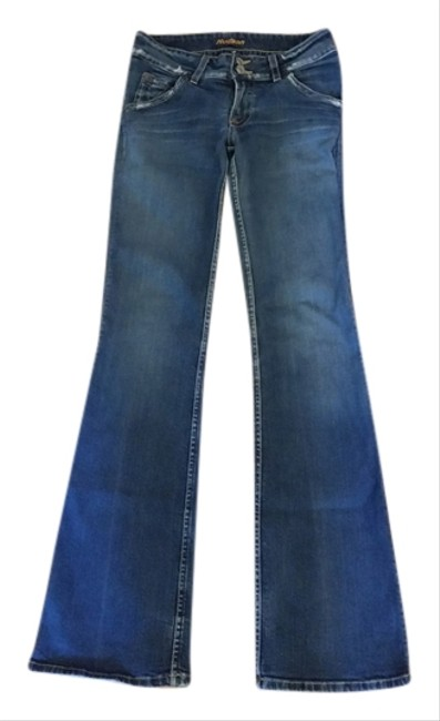 Preload https://item1.tradesy.com/images/hudson-distressed-boot-cut-jeans-size-28-4-s-6190945-0-0.jpg?width=400&height=650