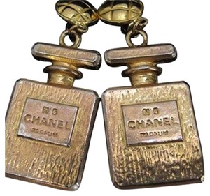 Chanel Chanel Perfume Clip On Earrings CCAV329
