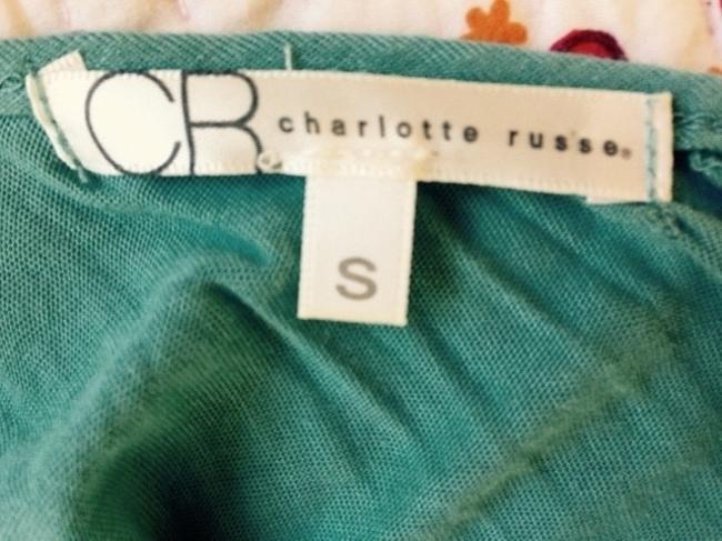 Charlotte Russe Top Greenish Blue