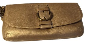 Coach Gold Clutch