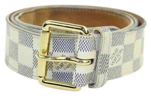Louis Vuitton Louis Vuitton Damier Azur Belt Size 38 LVML30
