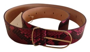 MAISON BOINET MAISON BOINET NWT MULTI COLOR MADE IN FRANCE PYTHON BELT (size medium)