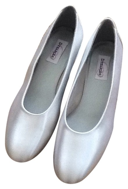 Dyeables Sienna Satin Flats Size US 10 Regular (M, B) Dyeables Sienna Satin Flats Size US 10 Regular (M, B) Image 1