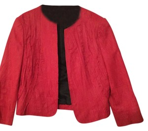 W by Worth Fushsia Leather Jacket