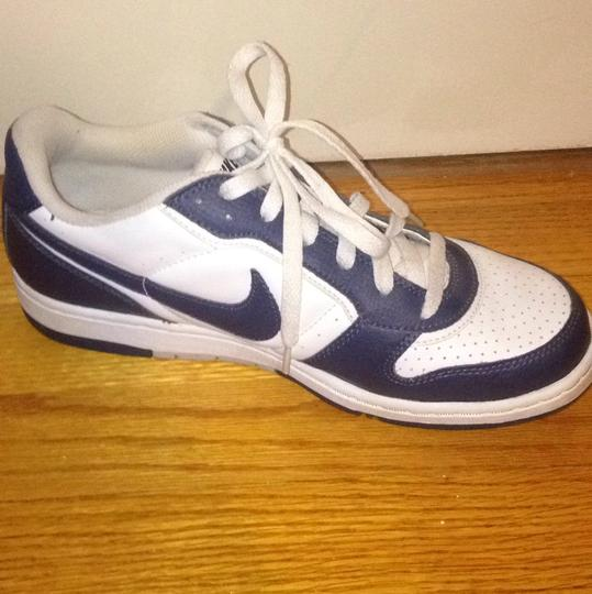 Nike Sneakers Sneakers Air Force Ones Navy and White Athletic