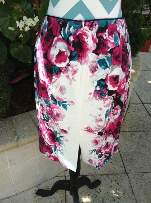 White House | Black Market Pencil Dressy Zip New With Tags Skirt multi color
